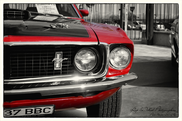 Ford Mustang HardTop V8 1969 260CV 8 cilindros