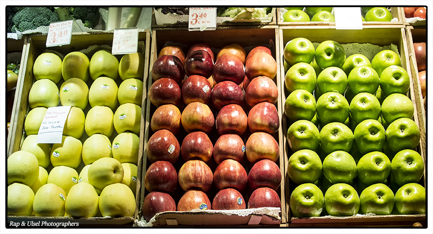 Quizás hay tantas clases de manzanas como personalidades. Maybe there are so many kinds of apples as personalities
