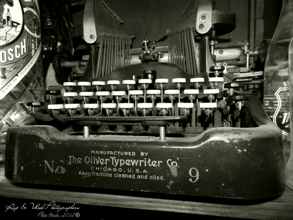 The Oliver Typerwriter co. Nº 9
