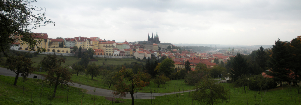 Panoramica de Praga. Panoramic Prague. Panoramatická Praha.