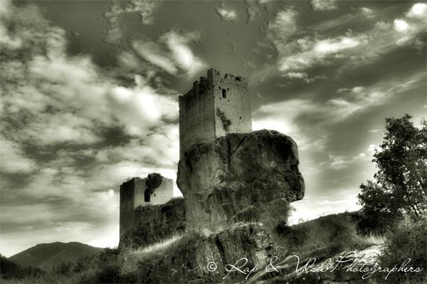 Castillos de Sibrana
